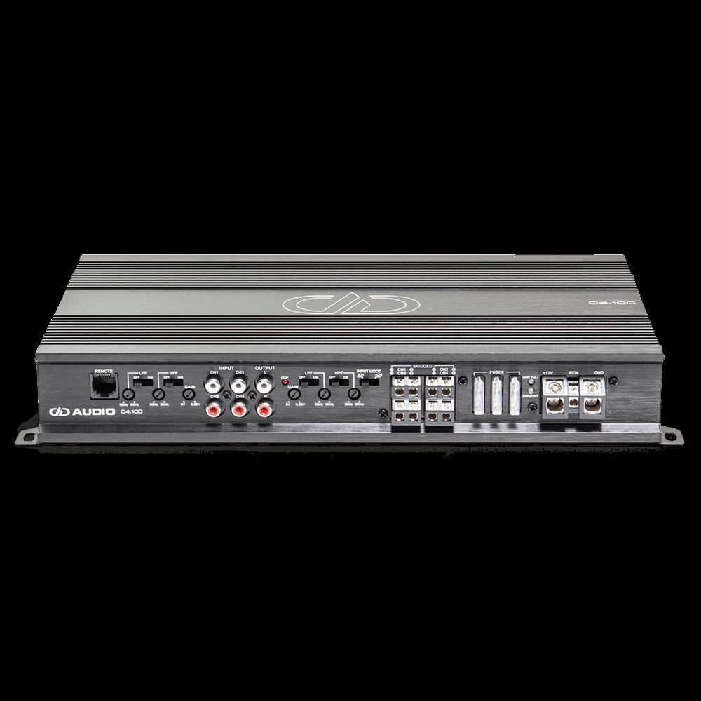 C4.100 4ch amplifier