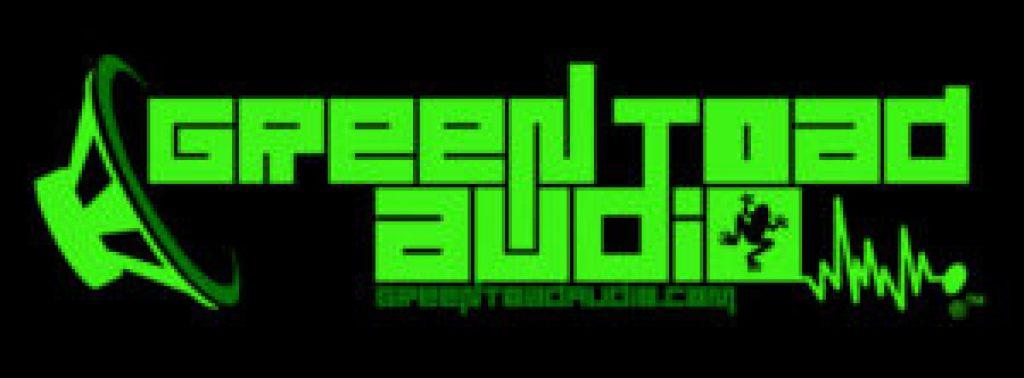 green toad audio logo