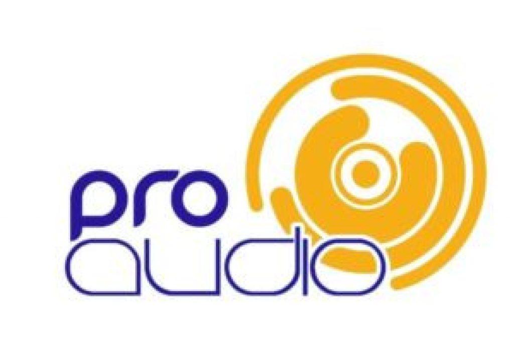 pro audio marca registrada logo