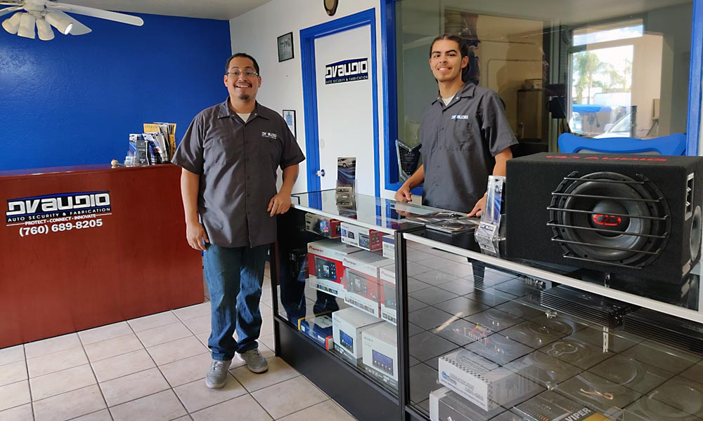 DV Audio's friendly staff ready to offer quality customer service