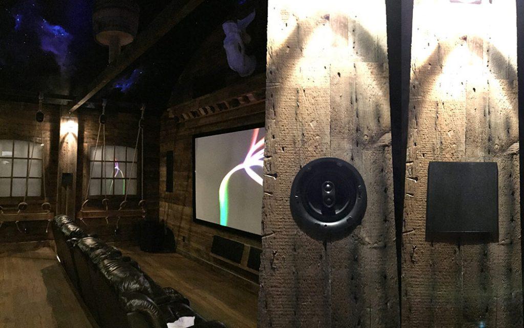 IW6.5 in-wall speaker installation