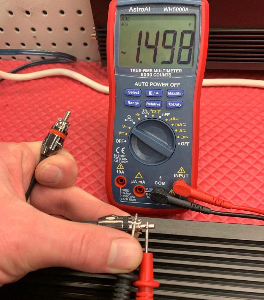 photo of multimeter