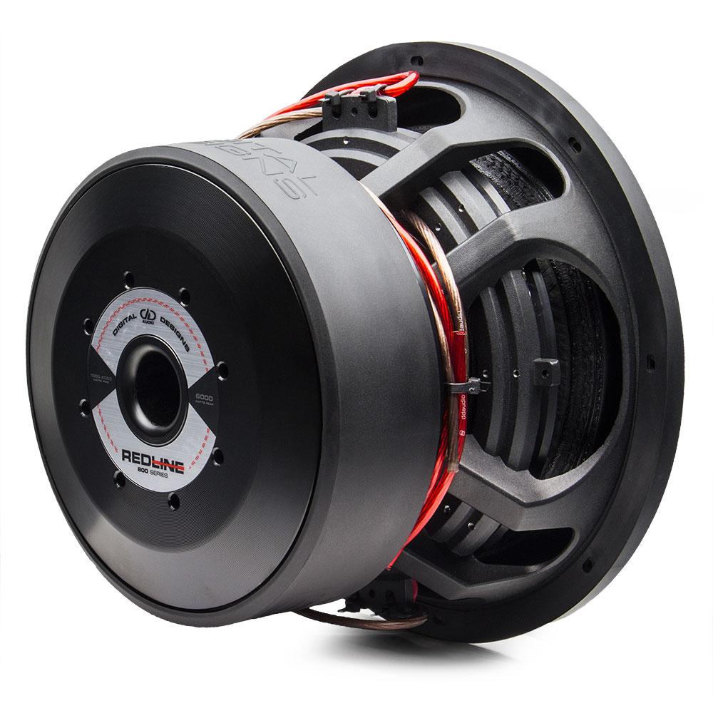 redline series 812 12 inch subwoofer