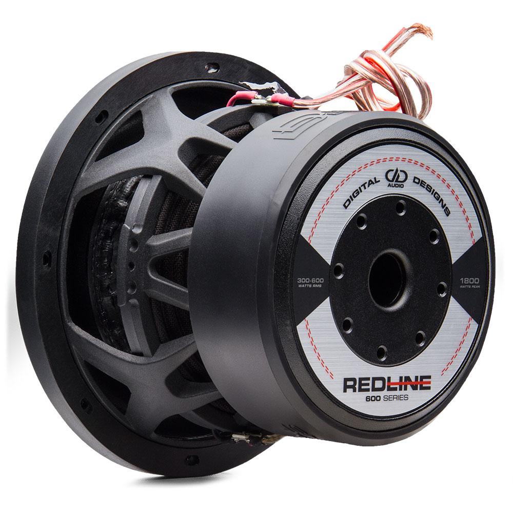 redline series 608 8 inch subwoofer