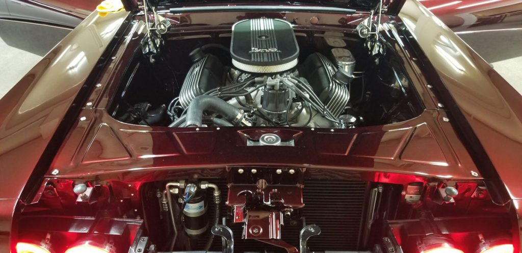 Engine compartment for 69 Mercury Cougar