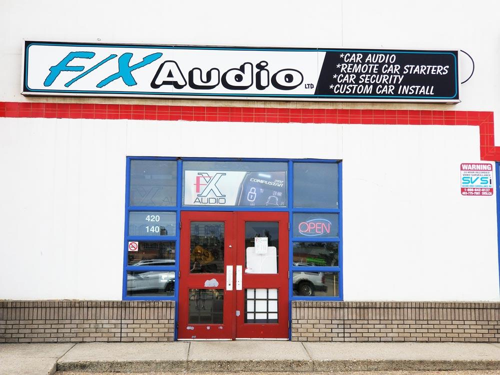 fx audio store front