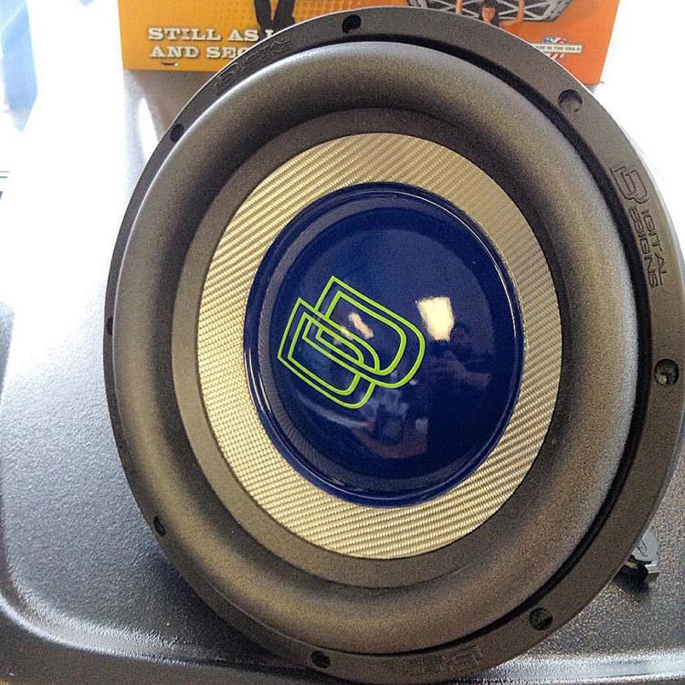 audio express of Richmond, va subwoofer display