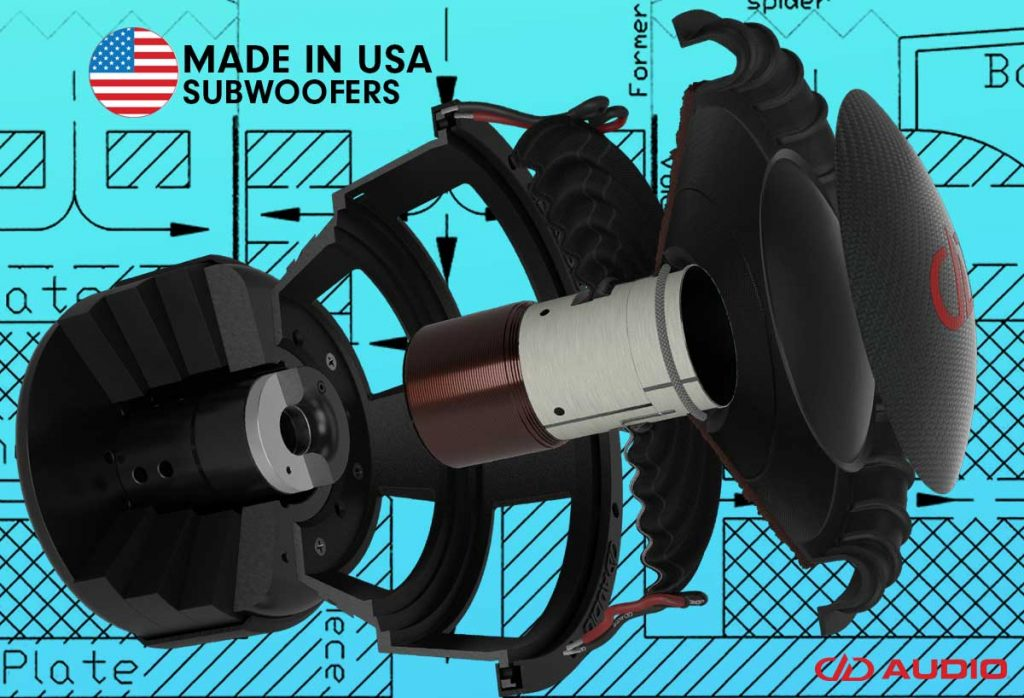 made in usa subwoofer cover