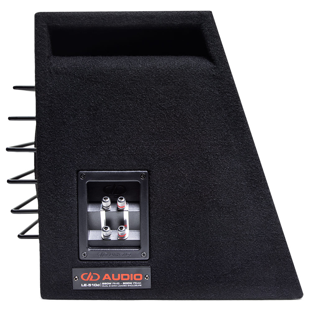 le-510d 10 inch loaded subwoofer enclosure