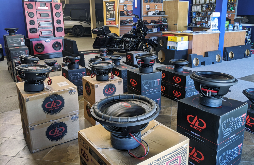 Livewire Customs huge inventory of DD Subwoofers