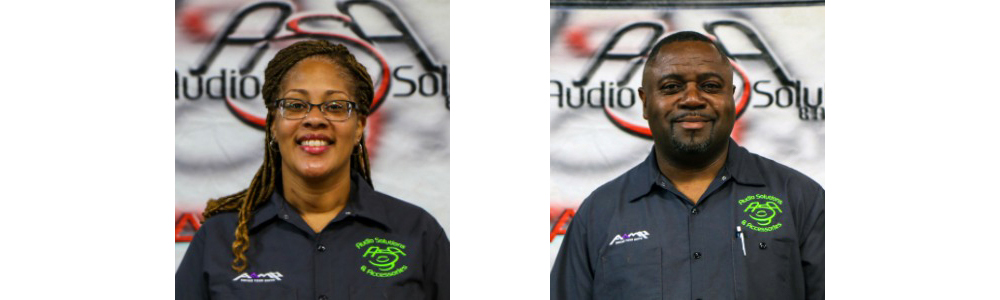 Tina Holton and Wayne Holton: Owners of Audio Solutions & Accessories