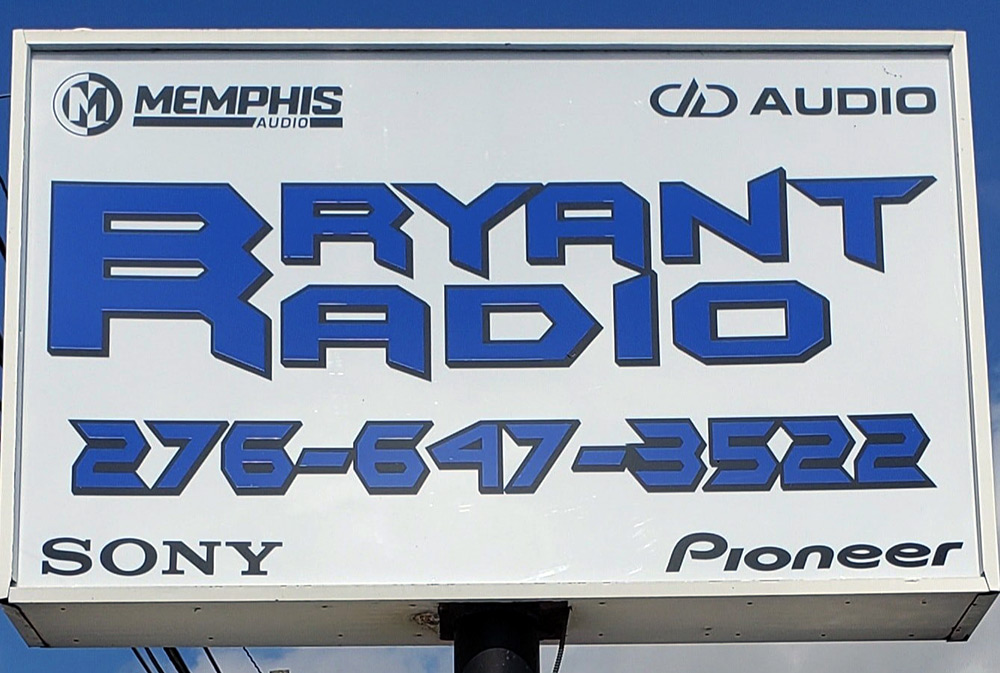 Bryant Radio sign