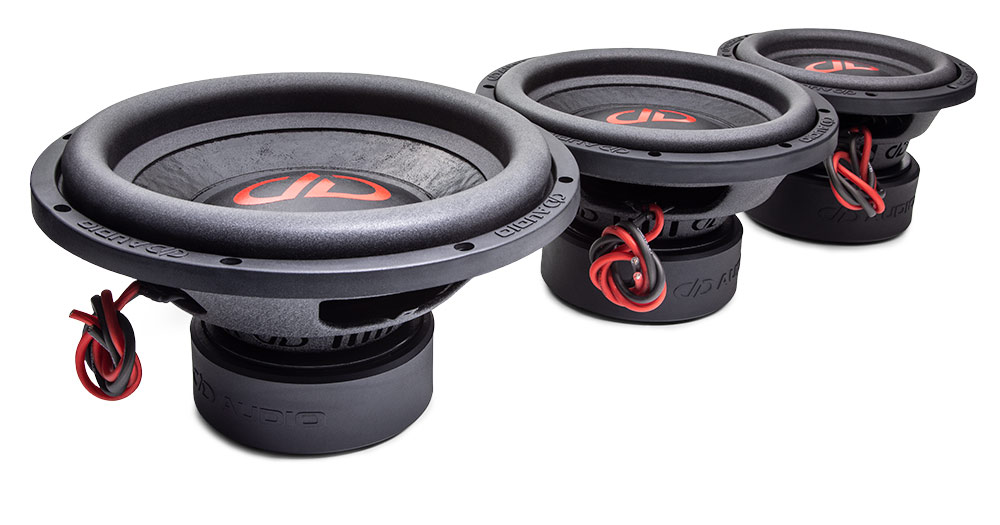 1100 Series Hi-Def Tuned Subwoofers group photo