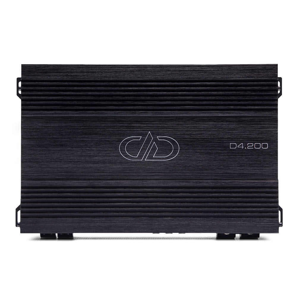 D4.200 4ch Amplifier top view