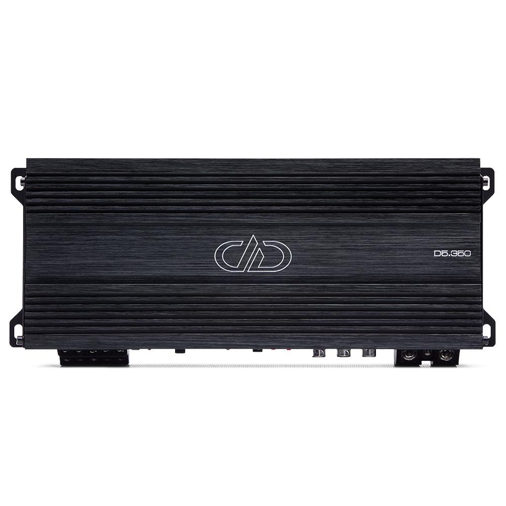 D5.3500 5ch Amplifier top view