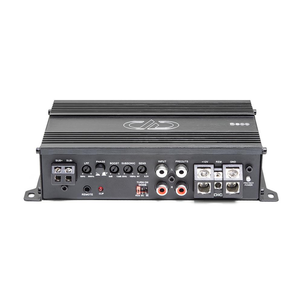 D600 Monoblock Amplifier 3qtr top view