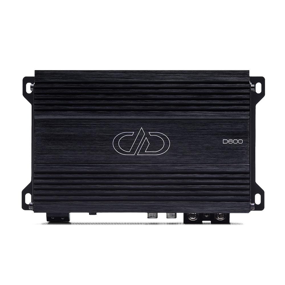 D600 Monoblock Amplifier top view