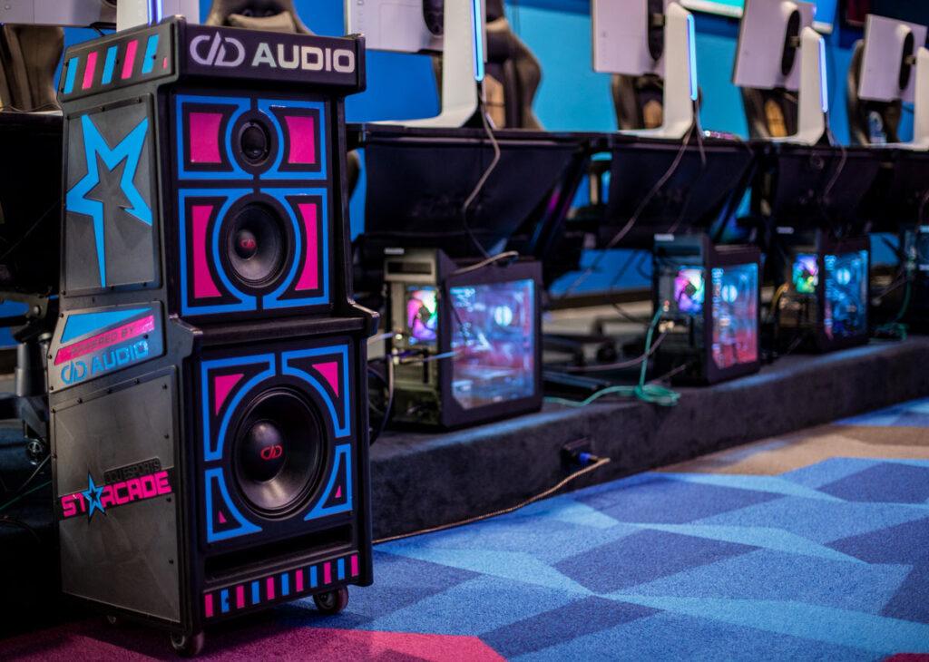 OCU eports starcade DD Audio console