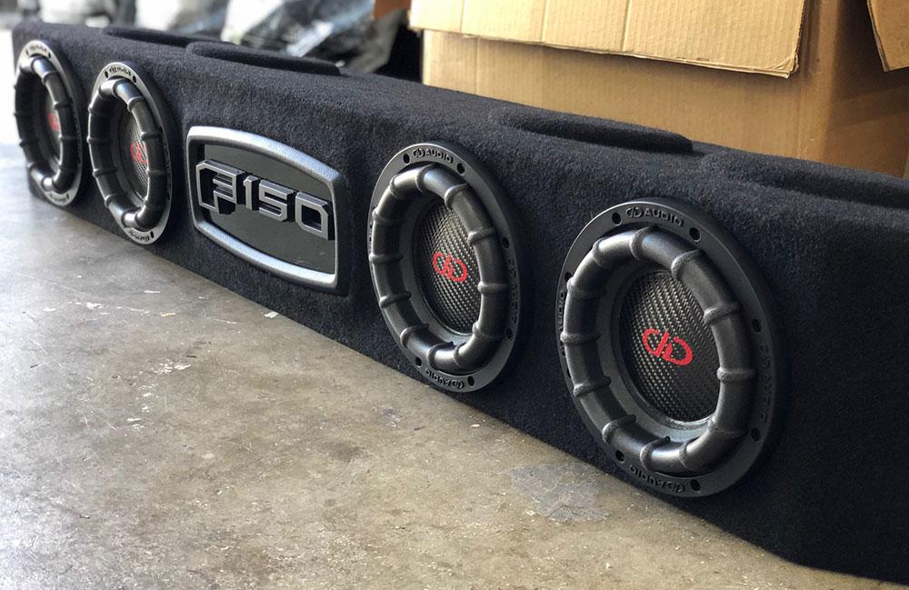 Dealer Spotlight - Speakerbox - Photo of F150 Enclosure